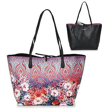 Bags Women Shopping Bags / Baskets Desigual BOLS_CAPRI FREYA Pink / Multicoloured
