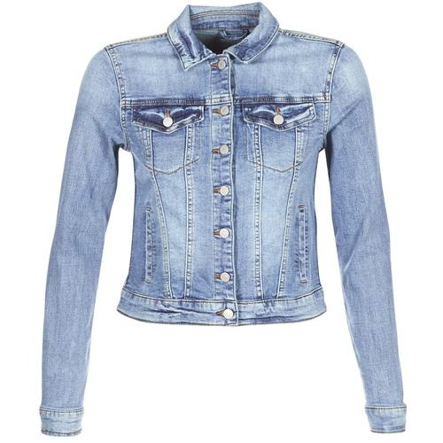 Clothing Women Denim jackets Vila VISHOW Blue / Medium
