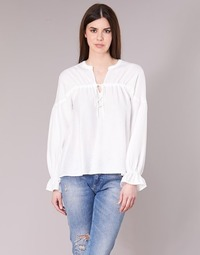 Clothing Women Tops / Blouses Vila VIRANNY White