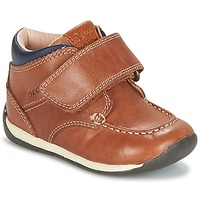 Shoes Boy Low top trainers Geox B EACH BOY Brown