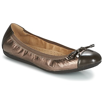 Shoes Women Flat shoes Geox D LOLA 2FIT Brown