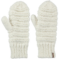 Clothes accessories Women Gloves Barts Jasmin Mitts - White White