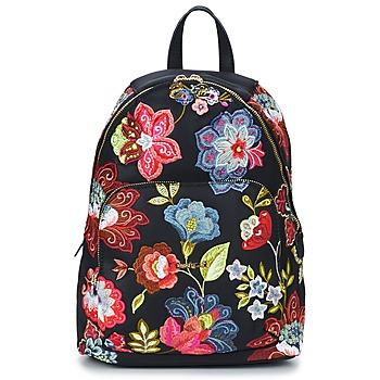 Bags Women Rucksacks Desigual BOLS_LIMA CARIBOU Black