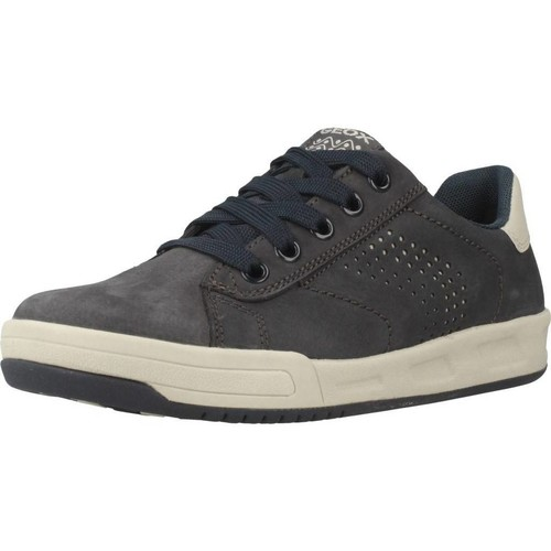 Shoes Girl Low top trainers Geox J ROLK BOY Blue