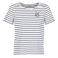 Clothing Women short-sleeved t-shirts Betty London INNAMOU White