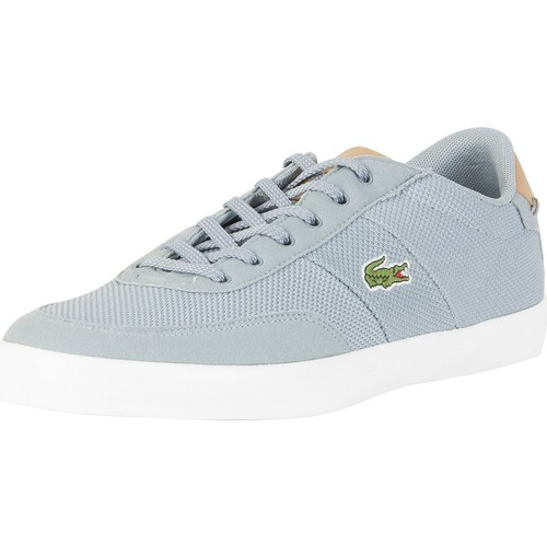 Shoes Men Low top trainers Lacoste Men's Court Master 118 1 CAM Trainers, Grey grey