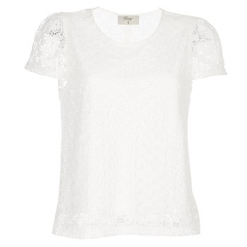 Clothing Women Tops / Blouses Betty London I-LOVI White