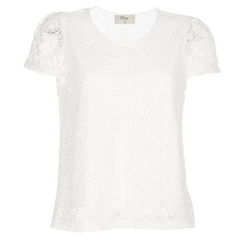 Clothing Women Tops / Blouses Betty London I-LOVI White