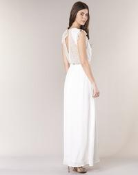 Clothing Women Long Dresses Betty London ILOVEYOU White