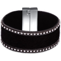 Watches Women Bracelets Fashionvictime Bracelet Cuff For Women By  - Base Metal Jewel- Zirconia Noir