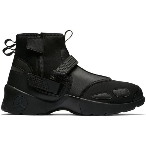 Shoes Men Mid boots Nike Air Jordan Trunner LX High Black