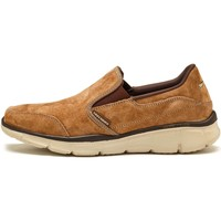 Shoes Men Low top trainers Skechers Equalizer Mind Game Suede Trainers in Brown 51502 BRN Brown