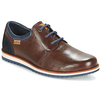Shoes Men Derby Shoes Pikolinos BIARRITZ M5A Brown / Blue