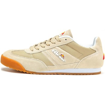Shoes Men Low top trainers Ellesse Forza Suede Trainers in Otameal Beige & Gum SHFU0296 Beige