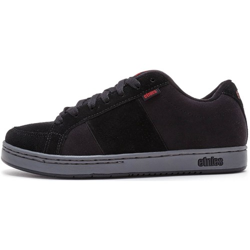 Shoes Men Low top trainers Etnies Kingpin Trainers in Black, Charcoal & Red 4101000091 557 Black