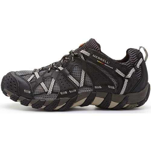 Shoes Men Low top trainers Merrell Waterpro Maipo Hiking Shoes in Black J80053 Black