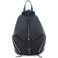 Bags Rucksacks Rebecca Minkoff Mini Julian black leather backpack Black