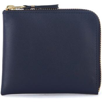 Bags Wallets Comme Des Garcons blue leather wallet Blue