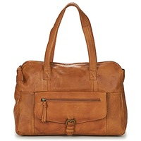 Bags Women Small shoulder bags Pieces PCABBY Cognac
