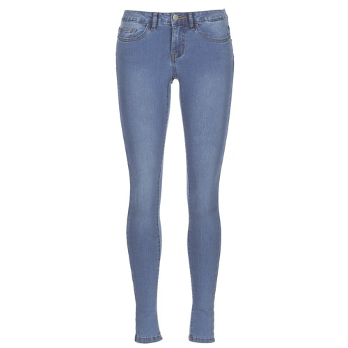 Clothing Women slim jeans Noisy May NMEVE Blue / Clear