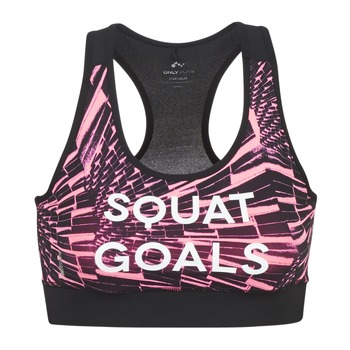 Clothing Women Sport bras Only Play ONPPERSIA Pink / Black