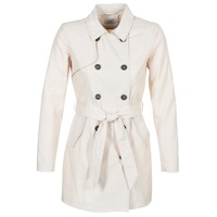 Clothing Women Trench coats Only LUCY Beige