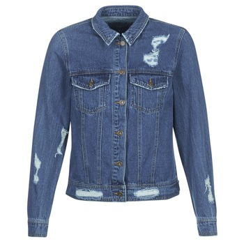 Clothing Women Denim jackets Only BECKY Blue / Medium