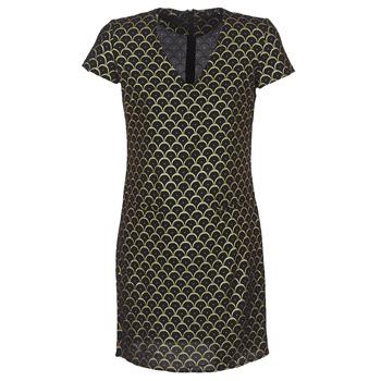 Clothing Women Short Dresses Only ANE MONEY Black