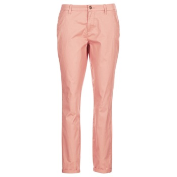 Clothing Women chinos Only PARIS Pink