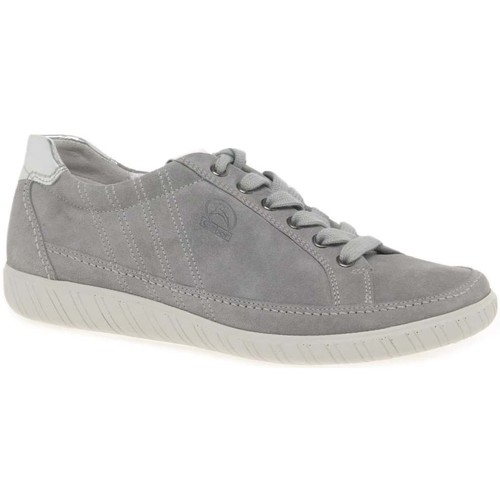 Shoes Women Low top trainers Gabor Amulet Womens Wide Fit Sneakers grey