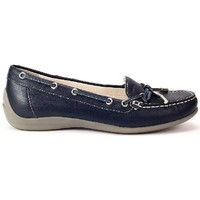 Shoes Women Boat shoes Geox Yuki Navy blue