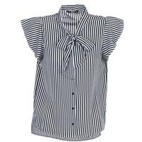 Clothing Women Tops / Blouses Only ELENA Black / White