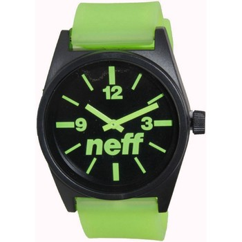 Watches Men Analogue watches Neff Daily Watch - Black / Green Green