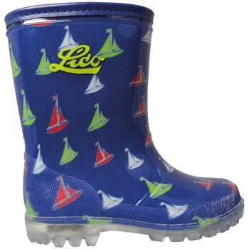 Shoes Wellington boots Lico Powerlight W Blinky Blue