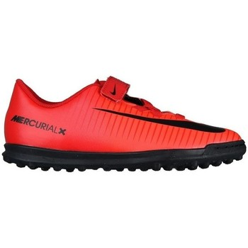 Shoes Children Low top trainers Nike Mercurial Vortex 3 TF JR Red