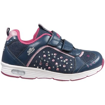 Shoes Low top trainers Lico Shine V Blinky Marinepink Blue