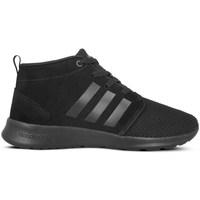 Shoes Women Hi top trainers adidas Originals CF Racer Mid Neo Black