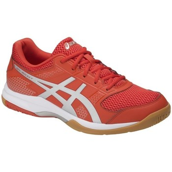 Shoes Men Low top trainers Asics Gel Rocket 8 0693 Red-Grey-White