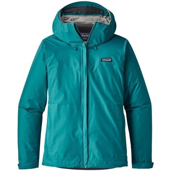 Clothing Women Macs Patagonia Torrentshell Womens Turquoise-Blue