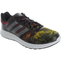 Shoes Men Low top trainers adidas Originals Duramo 7.1 Black/Yellow/Red
