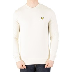 Clothing Men jumpers Lyle & Scott Men's Logo Sweatshirt, White white