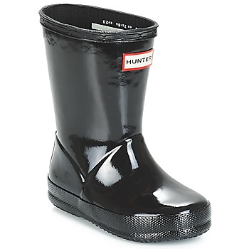Shoes Children Wellington boots Hunter KIDS FIRST CLASSIC GLOSS Black
