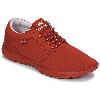 Shoes Low top trainers Supra HAMMER RUN Red