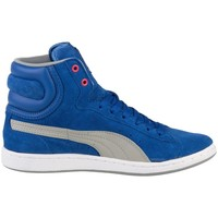 Shoes Women Hi top trainers Puma Cross Shot Wns White-Blue-Grey