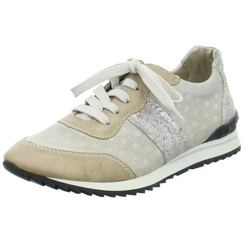 Shoes Women Low top trainers Rieker 5682661 Beige