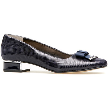 Shoes Women Heels Van Dal Robin - Midnight Reptile Print Blue