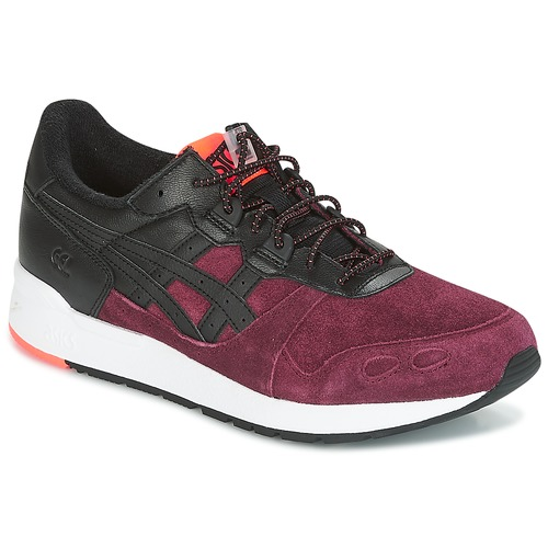 Shoes Men Low top trainers Asics GEL-LYTE Black / Bordeaux