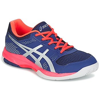 Shoes Women Indoor sports trainers Asics GEL-ROCKET 8 Blue / Pink / Orange