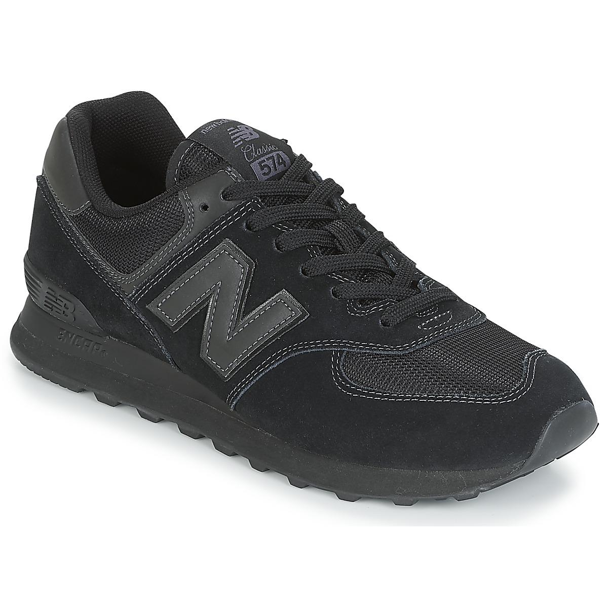 New Balance 574 Core Shoes - Blackout