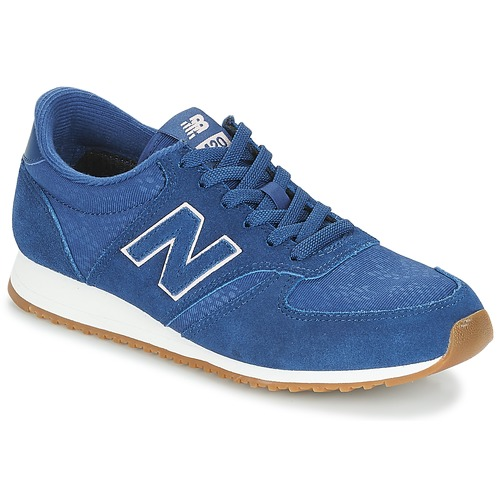 Shoes Women Low top trainers New Balance WL420 Blue / Pink